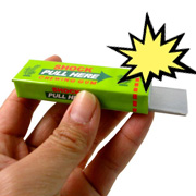 Joke chewing gum