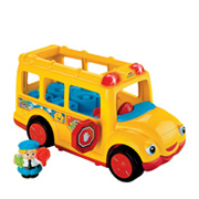 A Fisher Price Toy Bus