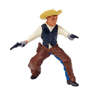 A Toy Cowboy Figure from Papo