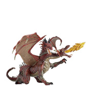 A Three-Headed Toy Dragon Figure from Papo