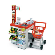 A Toy Supermarket with Trolly Playset from Smoby