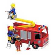 A Toy Fire Engine from Fireman Sam