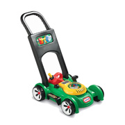 A Gas 'n' Go Lawn Mower from Little Tikes