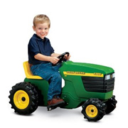 A Ride-On Toy Tractor from John Deere
