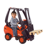 A Ride-On Forklift Truck from BIG