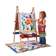 A Children's Painting Easel from Alex Toys