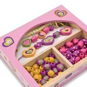 Sweet Hearts Jewellery Set from Melissa & Doug