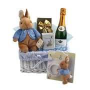 A Beatrix Potter Themed Baby Gift Basket