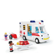 A Friction-Powered Ambulance from WOW Toys