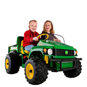 The Peg Perego John Deere Jeep