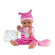 A Baby Doll with Accessories