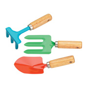 A Rake, Fork and Trowel - The Archetypal Gardening Tools