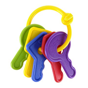 A Classic Teether in the Shape of a Bunch of Keys