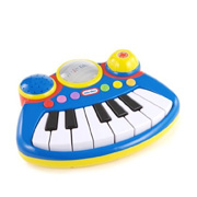 A Miniature Toy Keyboard from Little Tikes