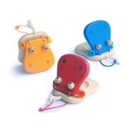 3 Hippo Castanets from Marbel