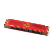 A Bright Red Toy Harmonica from Vilac