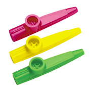 Plastic Toy Kazoos from Scotty