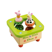A Moo and Oink Musical Box from Branching Out