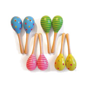 Wooden Maracas from Bigjigs Toys