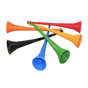 Brightly Coloured Vuvuzelas
