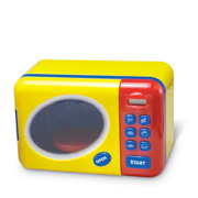 A Bright Yellow Microwave Oven from Learning Resources