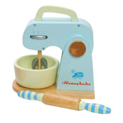 A Toy Mixer from Le Toy Van - Part of the Honeybake Baking Set