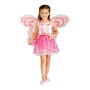 Girl in her fairy dressing up outfit