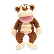 A Tellatale® Monkey Puppet from Fiesta Crafts