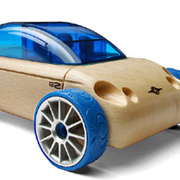 An Automoblox Toy Car