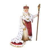 A Historic Toy King Figure