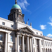 The Custom House in Dublin