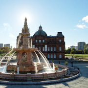 The Doulton Fountain in Glasgow Green