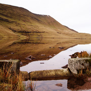 Llyn y Fan Fach in Carmarthenshire