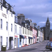 Lochgilphead - The administrative centre for Argyll and Bute