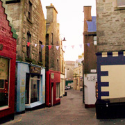 Commercial Street in Lerwick