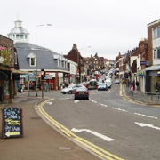 Uckfield town centre