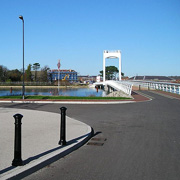 Forton Lake Millennium Bridge in Gosport