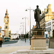Darlington city centre