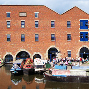 Portland Basin in Ashton-Under-Lyne