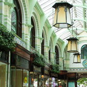 The Royal Arcade in Norwich