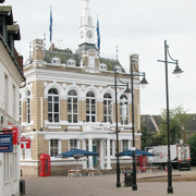 The Old Town Hall in Staines-upon-Thames
