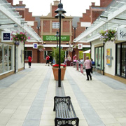 Springfields shopping outlet in Spalding