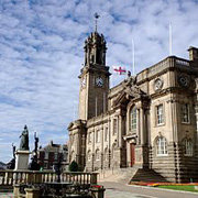 Edwardian Town Hall in South Shields