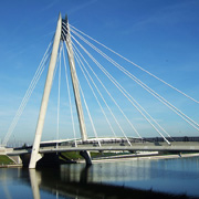 Marine Way Bridge in Southport