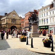 The Square in Shrewsbury
