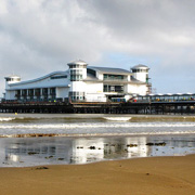 The iconic Grand Pier at Weston-super-Mare