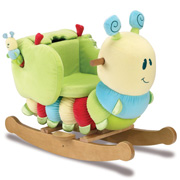 The Curious Caterpillar Infant Rocker from Little Bird Told Me