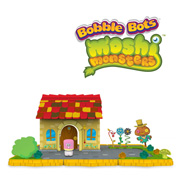 Bobble Bots Moshi Monster House Large Playset For Any Bobble Bots Moshling Toy