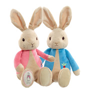Peter Rabbit and Flopsy Bunny