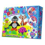 John Adams Ezee Beads Charms Kids Colour Picture Mosaic Arts Crafts Set